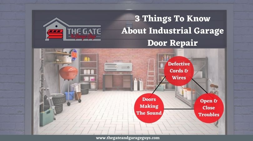 3 Things To Know About Industrial Garage Door Repair
