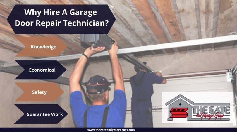 Why Hire A Garage Door Repair Technician?